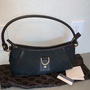 Authentic Gucci Abby baguette hobo purse pochette